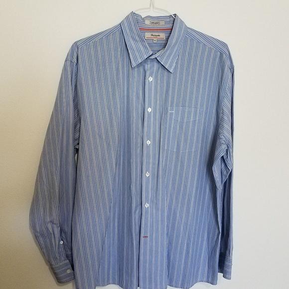 e5bb614b Faconnable Shirts   Long Sleeve Striped Shirt   Poshmark